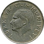 100 lira -  avers