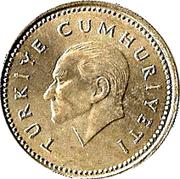 2500 lira -  avers
