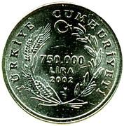 750 000 lira -  avers