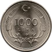 1000 lira -  revers