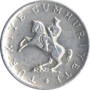 5 lira (petit module, étoile à droite) -  avers