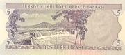 5 Lira – revers