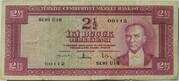 2½ Lira (red reverse) – avers