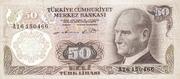 50 Türk Lirası – avers