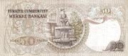 50 Türk Lirası – revers