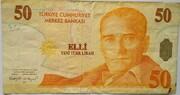 50 Lirasi -  avers