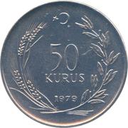 50 kuruş FAO – revers