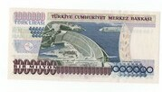 1000000 Lirasi -  revers