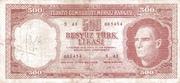 500 Lira – avers