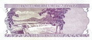5 Lira -  revers