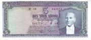 5 Lira – avers