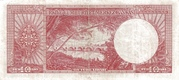 10 Lira (Red reverse) – revers
