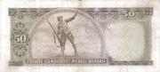 50 Lira (Gray reverse) – revers