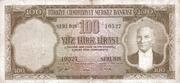 100 Lira (Brown reverse) – avers