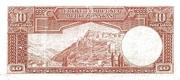 10 Lira – revers