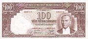 100 Lira – avers