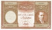 50 Lira – avers