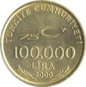 100 000 lira -  avers