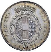 2 paoli - Ferdinando III – revers