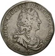 1/2 francescone Francesco III – avers
