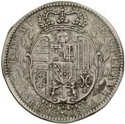 1/2 francescone Francesco III – revers