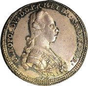 5 paoli - Pietro Leopoldo – revers