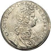 ½ piastre - Cosimo III – avers