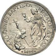 ½ piastre - Cosimo III – revers