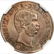 10 quattrini - Leopold II – avers