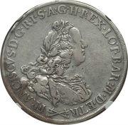 1 francescone, 10 paoli - Francesco III – avers