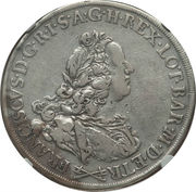 1 francescone, 10 paoli - Francois I – avers