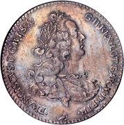 1 francescone - Francis I – avers