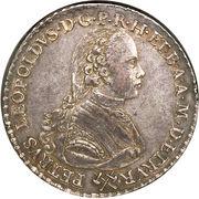 1 francescone - Pietro Leopoldo – avers