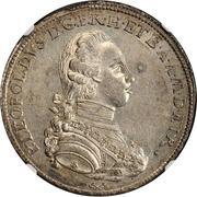 1 francescone, 10 paoli Pietro Leopoldo - type 3 – avers