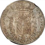 1 francescone, 10 paoli Pietro Leopoldo - type 3 – revers