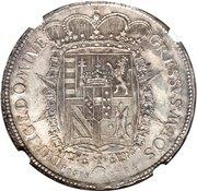1 Francescone, 10 Paoli - Pietro Leopoldo – revers