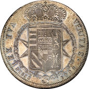 1 francescone - Ferdinand III – revers