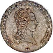 1 francescone - Ferdinand III – avers
