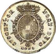 ½ paolo - Leopold II – revers
