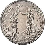 1 piastre Cosimo III – revers