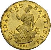 1 Zecchino, Ferdinando III – revers