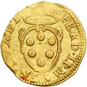1 doppia Ferdinand II – avers