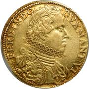 2 doppie, 4 ducati Ferdinando – avers