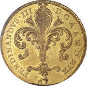 1 ruspone - Pietro Leopoldo – avers