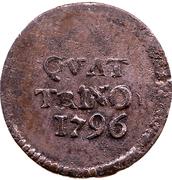 1 Quattrino - Ferdinando III – revers