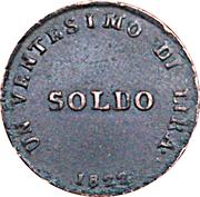 1 Soldo - Ferdinand III – revers