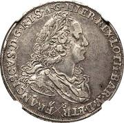 ½ francescone, 5 paoli - Francesco III – avers