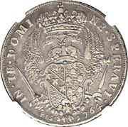 ½ francescone, 5 paoli - Francesco III – revers