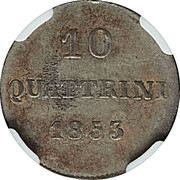 10 quattrini - Leopold II – revers