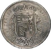1 francescone, 10 paoli Pietro Leopoldo – revers